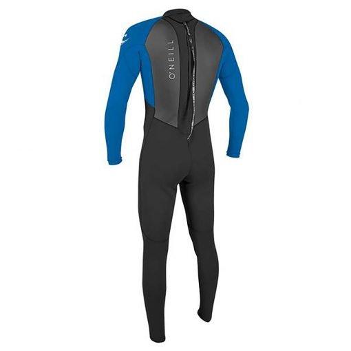 zenlifestyle-wetsuit-o-neill-reactor-II-3-2-mm-back-zip-back-blue