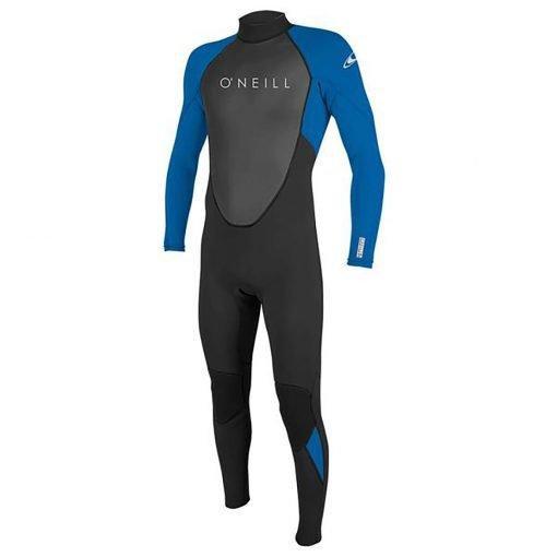 zenlifestyle-wetsuit-o-neill-reactor-II-3-2-mm-back-zip-front-blue
